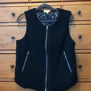 BNWOT Super Cute and Stylish Faux Shearling Vest